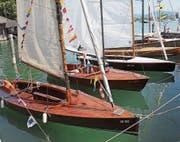 Segelboote am letztjährigen Barrique Cup. Bild: PD