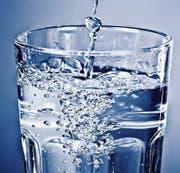 Ein Glas Trinkwasser. Bild: PD