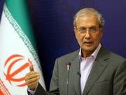 Teheran hat einen britischen Vorschlag für eine europäische Marinemission im Persischen Golf zurückgewiesen. Regierungssprecher Ali Rabiei sagte, eine europäische Flotte im Persischen Golf sei «provokativ» und würde «natürlich eine feindselige Botschaft» transportieren. (Bild: KEYSTONE/EPA/ABEDIN TAHERKENAREH)