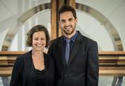 Angela und Stefan Hochstrasser. (Bild: Reto Martin)