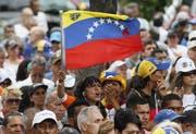 Eine Veranstaltung der venezolanischen Opposition in Caracas. (Bild: Leonardo Fernandez/AP, 23. Juli 2019)