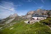 Die Rugghubelhütte SAC ob Engelberg. (Bild: Philipp Schmidli, 27. Juli 2019)