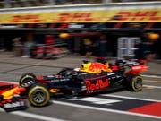 Nach 1,88 Sekunden wieder weg: Max Verstappen. (Bild: KEYSTONE/EPA POOL// POOL)