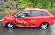Beim Unfall entstand ein Sachschaden in der Höhe von zirka 31'000 Franken. (Bild: Luzerner Polizei)