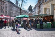 The market stalls will be rearranged according to opening times. (Image: Benjamin Manser - March 23, 2019)