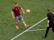 Liverpools Xherdan Shaqiri ist nach überstandener Wadenverletzung zurück im Training (Bild: KEYSTONE/AP/ARMANDO FRANCA)