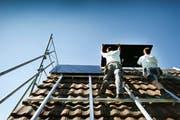 Ausserrhodens Dächer bieten noch viel Platz für Solaranlagen. (Bild: Swiss Photovoltaik AG)