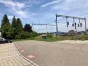 Die neue Sammelstelle wird östlich des Bahnhofgebäudes erstellt. (Bilder: Andrea Häusler)
