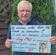 Walter Kälin junior will seinem Vater einen Traum erfüllen. (Bild: PD)