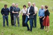 Im letzten Jahr führte führte Alain Berset seine Kollegen auf der Bundesratsreise nach Charmey im Kanton Freiburg. (Bild: Peter Klaunzer/Keystone, 5. Juli 2018)
