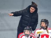 Daniela Diaz hat im Schweizer Frauen-Eishockey weiterhin das Sagen - aber aus höherer Position (Bild: KEYSTONE/EDDY RISCH)