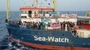 Die Sea-Watch 3 mitte Juni auf hoher See. (Bild: EPA)