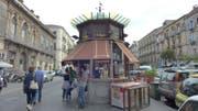 Ein solcher Chiosco hätte vor der Fachhochschule installiert werden sollen. (Bild: PD)