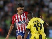 Rodrigo weckte mit seinen Auftritten bei Atlético Madrid das Interesse der finanzstärksten Klubs Europas (Bild: KEYSTONE/EPA/ATEF SAFADI)