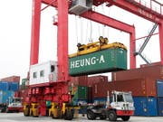 Das US-Defizit im Handel mit China ist im Juni gewachsen. (Bild: KEYSTONE/EPA/JEON HEON-KYUN)