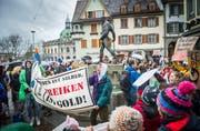 Klimastreik in Frauenfeld. (Bild: Andrea Stalder, 15. März 2019)