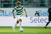 Yannis Letard im Testspiel gegen Celtic Glasgow. (Bild: Marc Schumacher/Freshfocus)