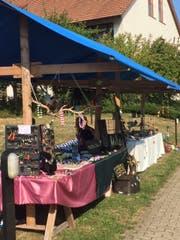 Ein Teil der Marktstände am Gartenfest. (Bild: PD)