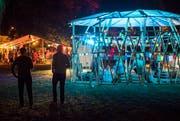 Beim Openair Out in the Green Garden in Frauenfeld gibt's im Murg-Auen-Park stimmungsvolles Ambiente und Konzerte bis Mitternacht. (Bild: Reto Martin)