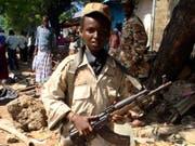 Laut Uno-Angaben wurden mehr als 7000 Kinder 2018 weltweit als Kindersoldaten rekrutiert, vor allem in Somalia, Nigeria und Syrien. (Bild: KEYSTONE/AP/FARAH ABDI WARSAMEH)