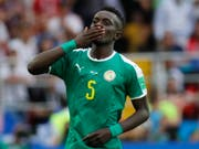 Der senegalesische Internationale Idrissa Gueye wechselt von Everton zu Paris Saint-Germain (Bild: KEYSTONE/EPA/FELIPE TRUEBA)