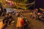 Bereits zum zweiten Mal gibt es am Rorschacher Seeufer Kultur, die zum Verweilen einlädt. (Bild: PD)