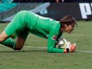 Zweimal ein sicherer Wert im Dortmund-Tor: der Schweizer Goalie Marwin Hitz (Bild: KEYSTONE/AP/CHUCK BURTON)