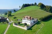 Das Landschloss Castelen in Alberswil. (Bild: Nobilis Estate AG)