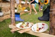 Das Clanx-Festival Appenzell ist seit Beginn für die kreative Küche bekannt. (Bild: Kasimir Hoehener)