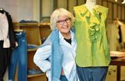 Rosmarie Klee führte 43 Jahre lang eine Modeboutique in Amriswil. Nun übergibt sie ihr Lebenswerk in andere Hände. Bild: Manuel Nagel