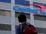 Ein Hacker hat Daten von Millionen Bankkunden bei Capital One erbeutet. (Bild: KEYSTONE/AP/JEFF CHIU)