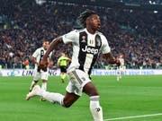 Moise Kean steht vor einem Wechsel von Juventus Turin zu Everton und soll in Liverpool gut 3,5 Millionen Franken pro Jahr verdienen (Bild: KEYSTONE/AP ANSA/ANDREA DI MARCO)