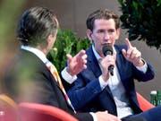 Kann sich in Österreich eine Neuauflage der Koalition mit der rechtspopulistischen FPÖ vorstellen: Ex-Kanzler und ÖVP-Chef Sebastian Kurz. (Bild: KEYSTONE/APA/APA/BARBARA GINDL)
