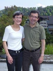 Monika und Mario Ammann sind aktive Orientierungsläufer – und zwar vor und hinter der Kulisse. (Bild: Ulrike Huber)