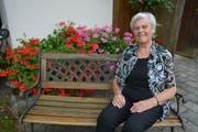 Silvia Hutterli ist mit 82 Jahren noch unternehmungslustig und agil. (Bild: Monika Wick)