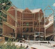 Bräkers Globe wurde vor 20 Jahren in Lichtensteig demontiert um nach Rust in den Europapark transportiert zu werden. (Bild: PD)