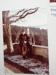 Alfred Nobs und seine Marianne bei der Verlobung. (Bild: PD)