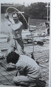Alfred Nobs bei der Arbeit. (Bid: PD)