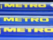 Zwei grössere Aktionäre der deutschen Metro-Gruppe wollen zusammenarbeiten und sich somit gegen eine Übernahme des Handelskonzerns stellen. (Bild: KEYSTONE/AP/ROBERTO PFEIL)