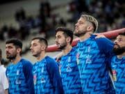 Griechenlands Nationalteam ist in der EM-Qualifikation in Rücklage (Bild: KEYSTONE/EPA ANA-MPA/PANAGIOTIS MOSCHANDREOU)