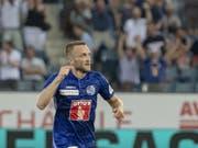 Christian Schneuwly spielt nicht mehr für den FC Luzern (Bild: KEYSTONE/URS FLUEELER)