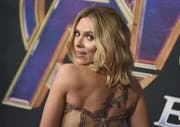 Scarlett Johansson alias «Black Widow» bei der Premiere von «Avengers: Endgame» im April in Los Angeles. Der Film dominierte dieses Jahr an den Kinokassen – auch hierzulande. (Jordan Strauss/Invision/AP)