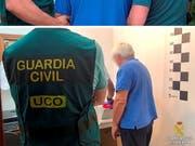In Spanien ist der Mann, der als Hauptdrahtzieher des europaweiten Pferdefleischskandals von 2013 gilt, verhaftet worden. (Bild: KEYSTONE/EPA SPANISH CIVIL GUARD/SPANISH CIVIL GUARD HANDOUT)