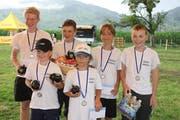 Die Eggä-Schränzer gewannen das Schülerturnier.