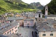 Das Dorf Poschiavo strahlt italienischen Charme aus. Bild: Imago