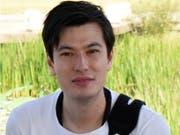 Wurde über eine Woche lang in Nordkorea festgehalten: der australische Student und Autor Alek Sigley. (Bild: KEYSTONE/EPA THE SIGLEY FAMILY/THE SIGLEY FAMILY HANDOUT)