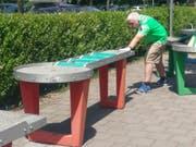 Hans Hardegger kämpfte sich in Bad Zurzach bis in den Final vor, scheiterte dort aber am stark aufspielenden Berner Adrian Scheuner. (Bild: PD)