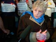 Starb im Alter von 85-Jahren: die rumänsiche Holocaus-Überlebende Eva Kor. (Bild: KEYSTONE/AP FILE/DARRON CUMMINGS)