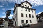 Das Rathaus in Stans. (Bild: Roger Zbinden, Luzerner Zeitung, 11. März 2008)