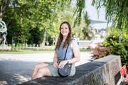 An der Abschlussrede wird die Willisauerin Valerie Burri Anekdoten aus der Studienzeit erzählen. (Bild: Manuela Jans-Koch, Luzern, 28. Juni 2019)